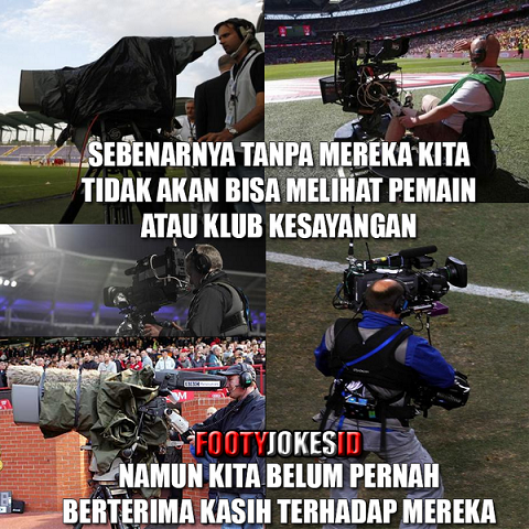 Thanks Kameraman -  Football Jokes Indonesia: Thanks Kameraman