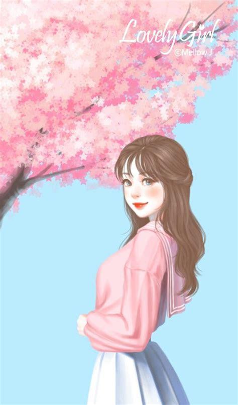 cute korean anime wallpapers top  cute korean anime