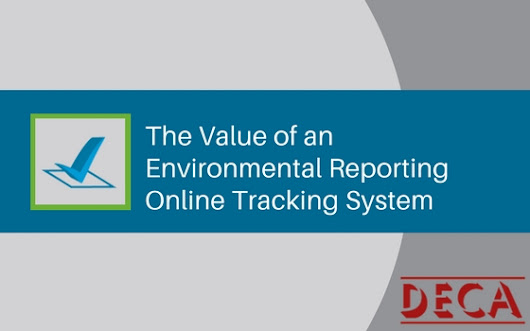 The Value of an Environmental Reporting Online Tracking System