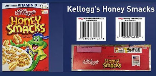 Kellogg recalls Honey Smacks cereal due to possible presence of Salmonella