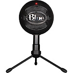 Blue Snowball iCE Microphone, USB Condenser Microphone - Black