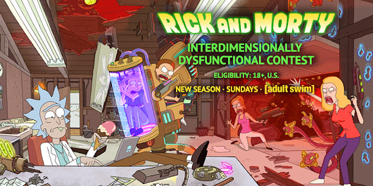 Rick and Morty Contest by madizzlee on DeviantArt