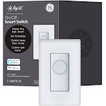 C by GE - Bluetooth Smart Light Switch - White