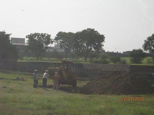 Tata Inora Park - Katraj Saswad State Highway - Undri Pune - Construction site!