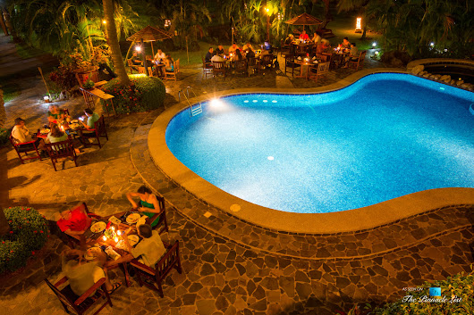 Tambor Tropical Beach Resort – Tambor, Puntarenas, Costa Rica – Poolside Restaurant Dining at Night | The Pinnacle List