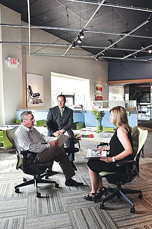 For subcontractor, furniture work at chip fab was one of its