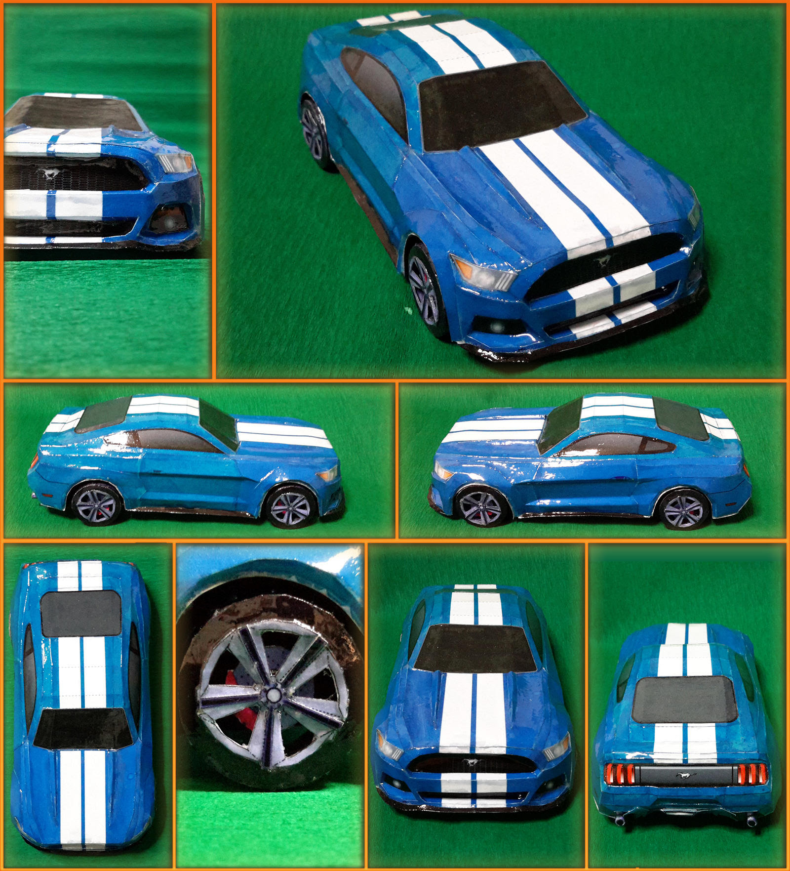 Ford Mustang GT 2015 Papercraft by Mironius on DeviantArt