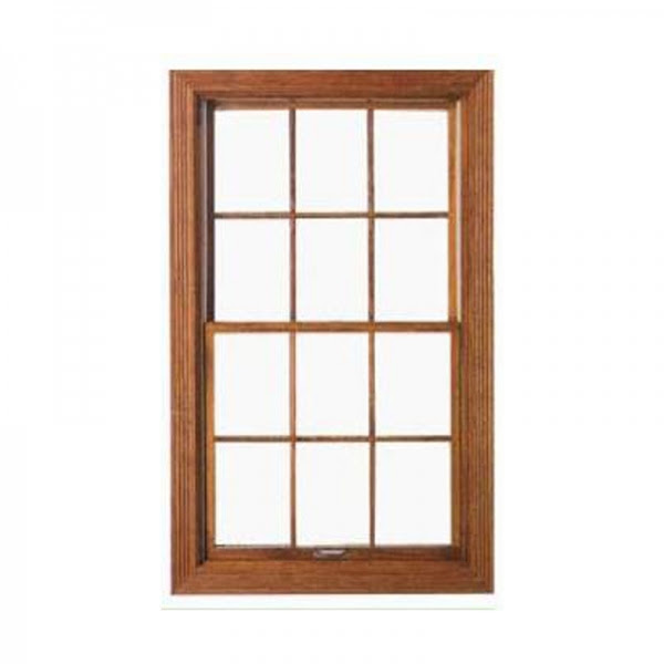 Solid Wood Push Up Down Vertical Sliding Windowssolid Wood Exterior