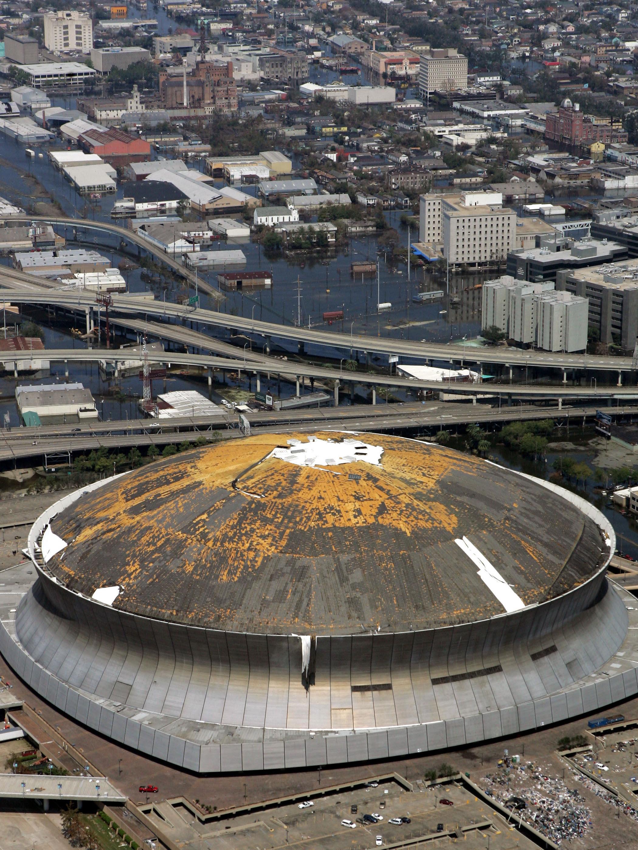 For New Orleans, Superdome A Symbol Of City's Spirit : NPR