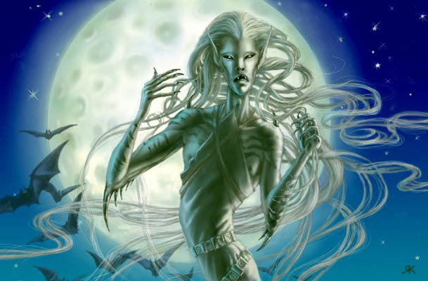 Espíritus adivinos : El Banshee - mensajera de la muerte