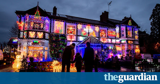 The most festive houses in Britain – in pictures | Life and style | The Guardian