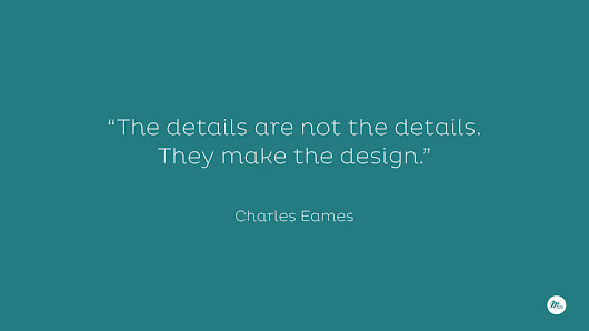The details are not the details. ~ MGR Webdesigner & Webmaster Bordeaux