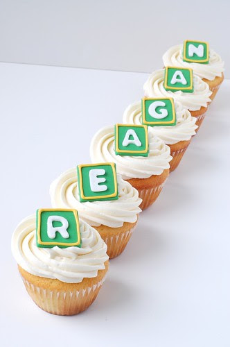 A Baby Shower - REAGAN cupcakes