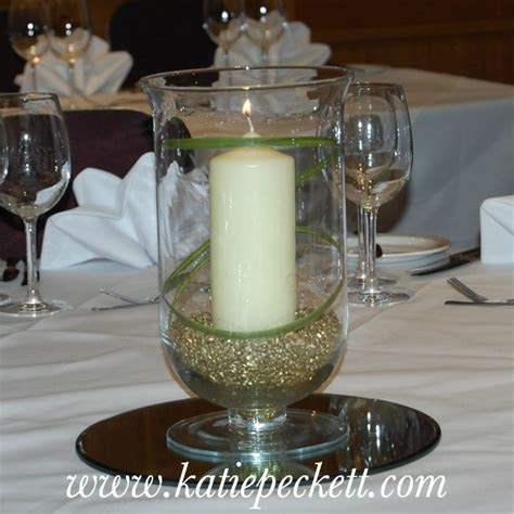 How To Decorate A Hurricane Vase For Wedding