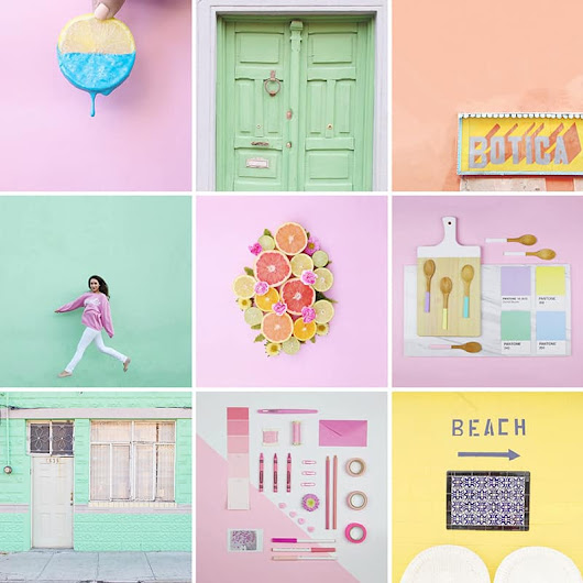 75 COLOURFUL INSTAGRAM ACCOUNTS THAT YOU NEED TO FOLLOW RIGHT NOW!  | Bespoke-Bride: Wedding Blog