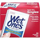 Wet Ones Antibacterial Hand Wipes, Fresh - 24 count