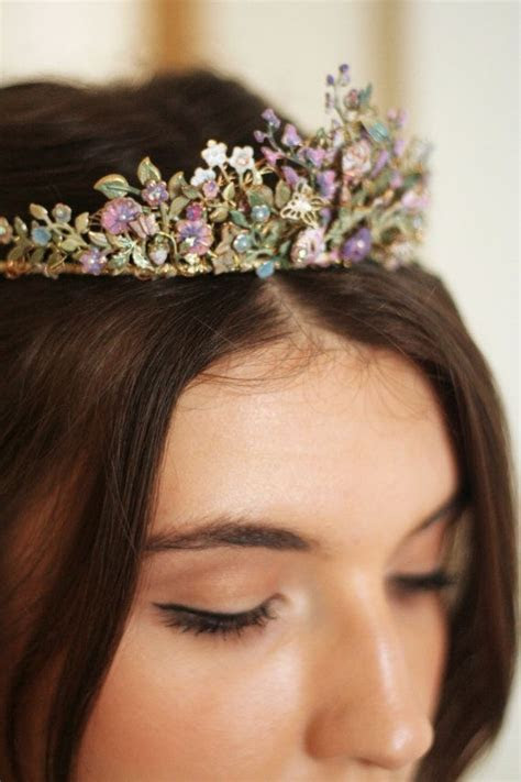Country Garden Tiara Bridal Hair Band