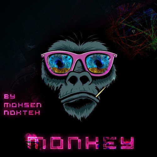 Monkey By Mohsen Nokteh by Mohsen Nokteh