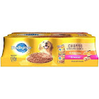 Pedigree Canned Dog Food, Chopped Ground Dinner - 12 pack, 13.2 oz cans