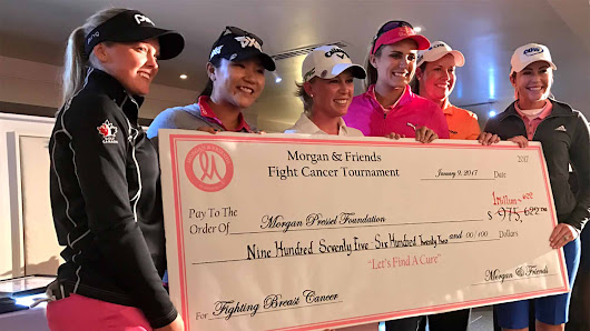 Morgan and Friends Again Raises A Million Dollars To Fight Breast Cancer | LPGA | Ladies Professional Golf Association