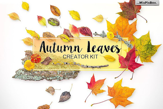 Autumn Falling Leaves Creator Kit - only $5!