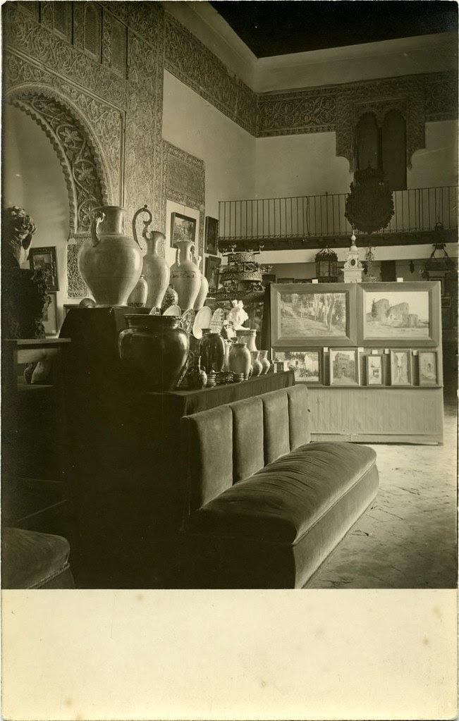 Casa de Mesa en la exposición de 1920. Fotografía de Pedro Román Martínez. Diputación de Toledo