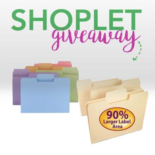 Win a Set of Smead Super Tab File Folders | Shoplet