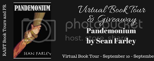 Virtual Book Tour: Pandemonium by Sean Farley @motorcitysean read an #interview with the #author and enter the #giveaway