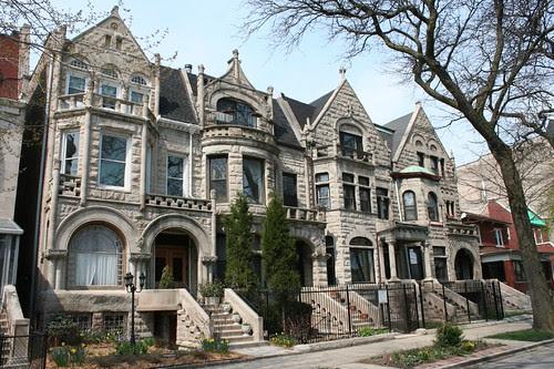 Graystone row houses