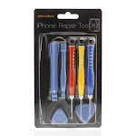 Aleratec 250319 iPhone 4/4S/5 Professional Repair Tool Kit with Mounting Screw Bracket
