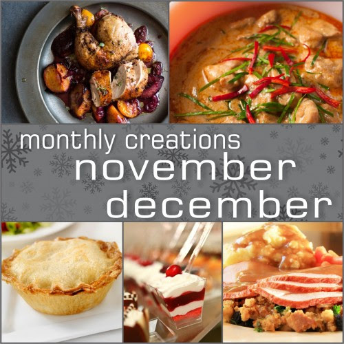 November & December Monthly Creations - Office Gourmet Catering