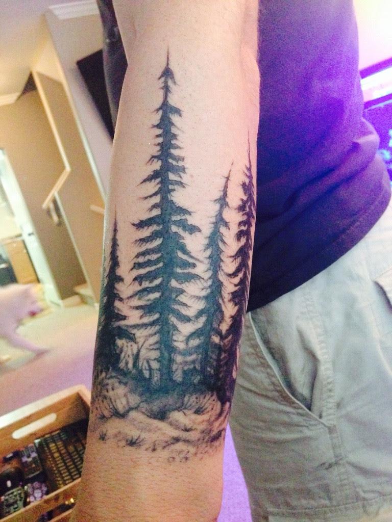 First Tattoo Start Of My Sleeve Work In Progress Tattoo