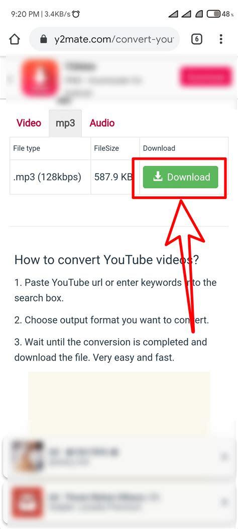 merubah video youtube menjadi mp  mudah