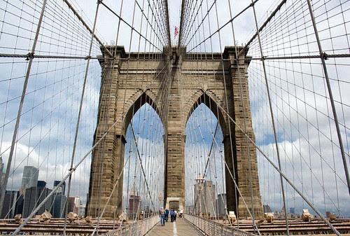 Brooklyn Bridge, Manhattan, New York, USA, by jmhdezhdez