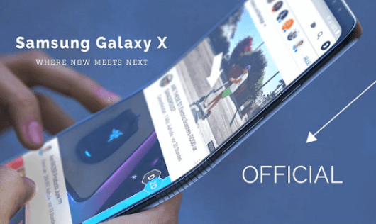 "Samsung Galaxy X ""Foldable Smartphone"" Meet The Future"