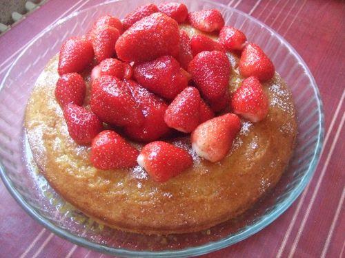 recette savarin aux fraises