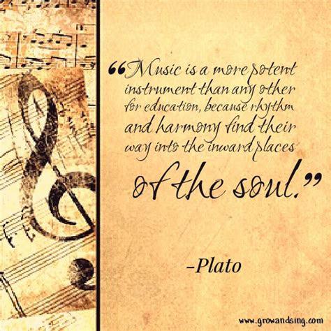 Plato Quotes Music Education