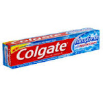 Colgate Maxfresh Fluoride Toothpaste With Mini Breath Strips Whitening Cool Mint, 6 Oz