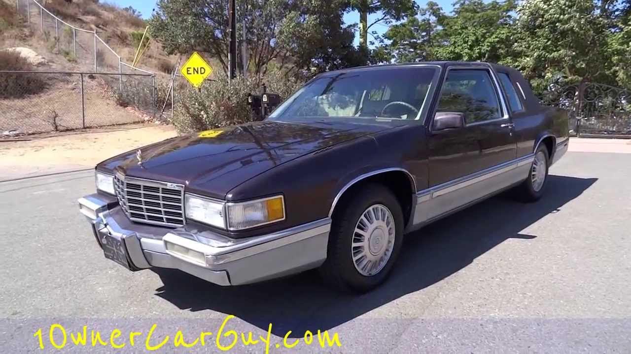 Cadillac Coupe De Ville Deville 2 Door Coupe 4.9L V8 Last ...