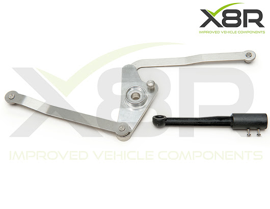 Mercedes Benz V6 M272 and V8 M273 Intake Inlet Manifold Air Flap Runner Lever