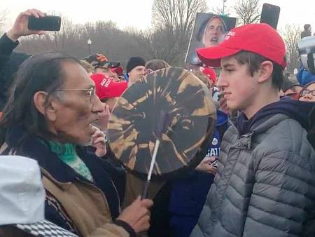 Image result for nathan phillips maga
