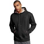 Champion Men's Powerblend Fleece Pullover Hoodie Black