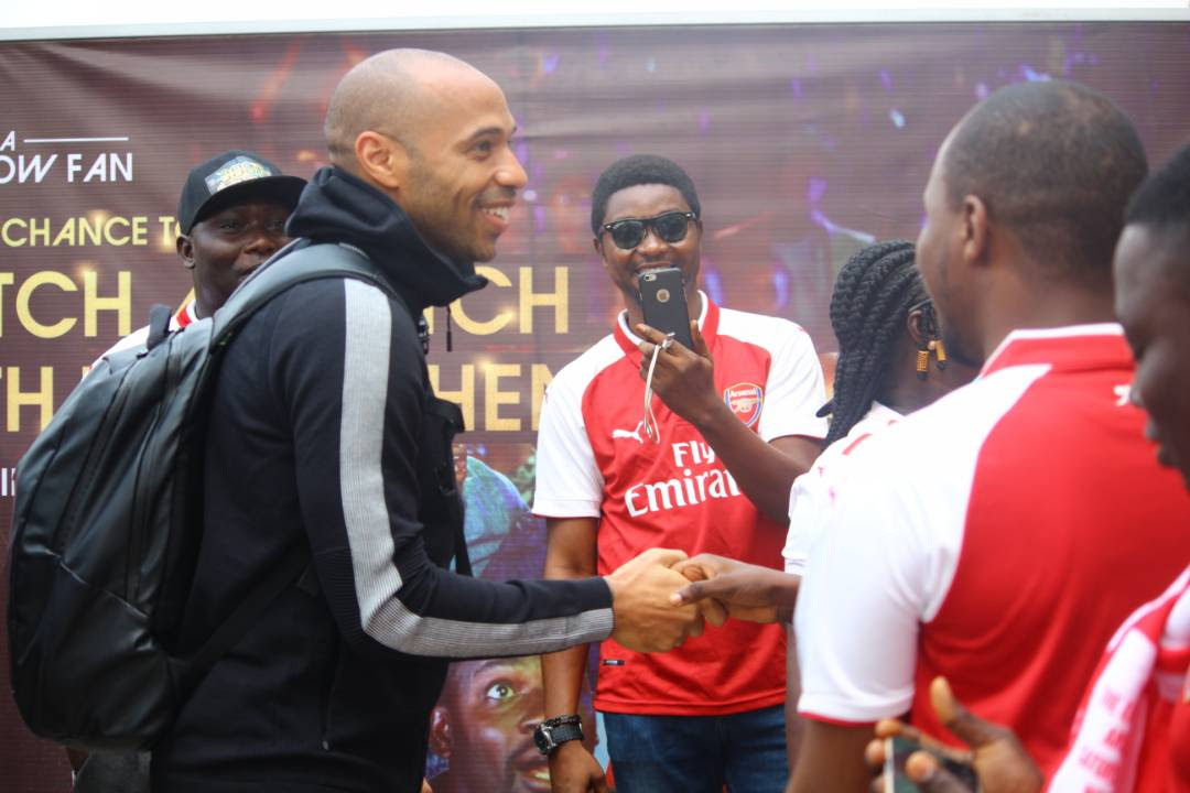 ImAGES FOR THIERRY HENRY IN NIGERIA