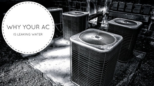 Why Your Air Conditioner is Leaking Water | Max Mechanical