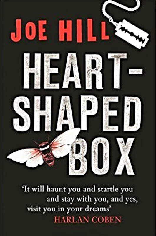 #BookReview Heart-Shaped Box by Joe Hill #Sundayblogshare #Horror