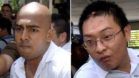 Balsa com um caminhão da polícia chega da ilha de Nusakambangan, onde execuções de prisioneiros deverão ocorrer nos próximas dias, segundo mídia local Foto: BBCBrasil.com