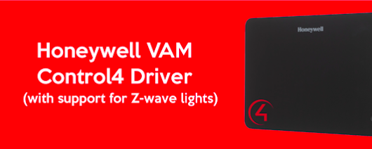 Honeywell VAM Control4 Driver Now Available | Industry News, Control4 | Digital Smart Homes | We're a lifestyle technology company. Control4 Home Control & Home Automation, Home Theatre Systems, Surround Sound Systems, Hi-Fi Systems, Whole Home Audio & Video, Lighting and Shading.