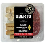 Oberto Salame Breadsticks Grana Padano Cheese 2.5oz (CASE OF 4 OF 6 PACK)
