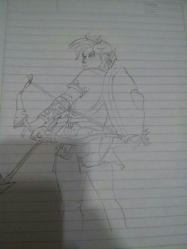Link Breath Of The Wild Dibujo Zelda Amino En Español Amino