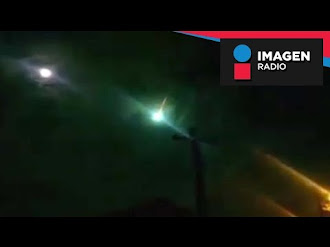 Aparecen extrañas luces en el cielo de Tijuana / De Madrugada